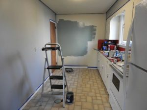 Painting Kitchen